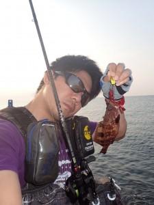 バサロは良く釣れる