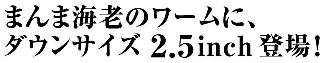 スナッチバイトシュリンプ 2.5inch