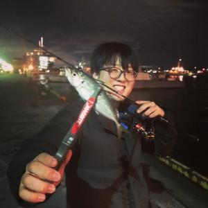 関門にて念願の初アジ!!