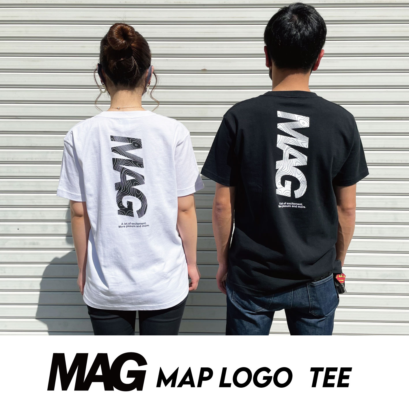 マグマップロゴTシャツ