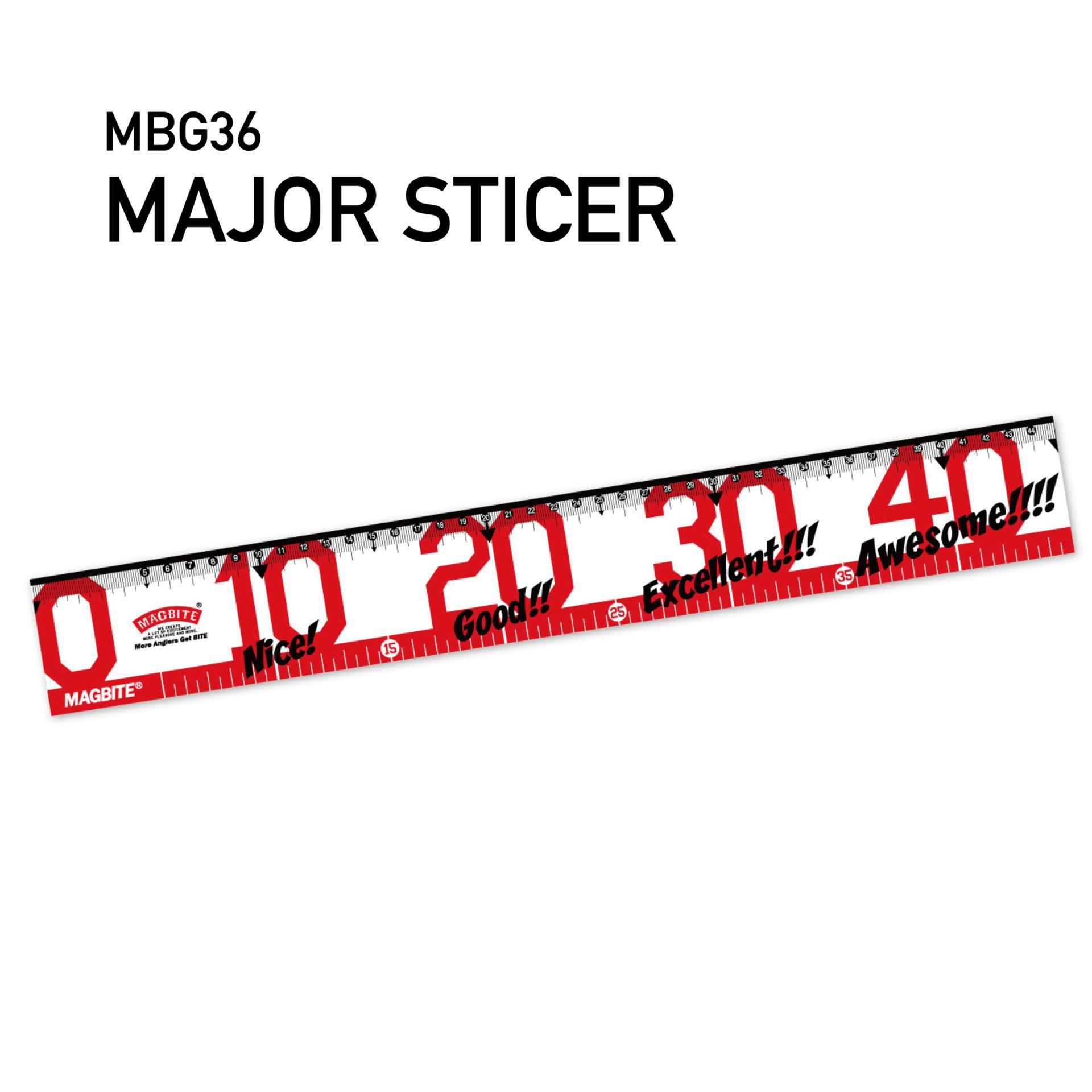 メジャーステッカー45cm